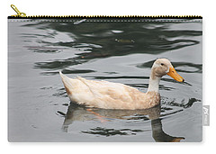 Swimming Duck Carry-all Pouch by Pamela Walton