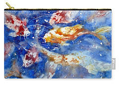 Swimming Koi Fish Carry-all Pouch