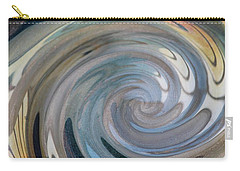 Carry-all Pouch featuring the photograph Swirl by Diane Alexander