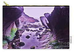 Carry-all Pouch featuring the photograph Swirl Rocks 2 by John Williams
