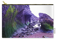 Carry-all Pouch featuring the photograph Swirl Rocks by John Williams