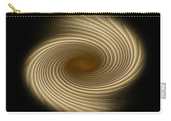 Carry-all Pouch featuring the photograph Swirling Abstract Design by Charles Beeler
