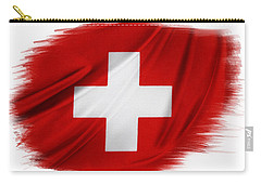 Swiss Flag Carry-all Pouch
