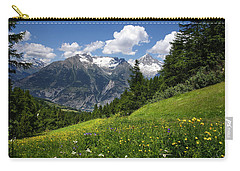 Switzerland Bietschhorn Carry-all Pouch