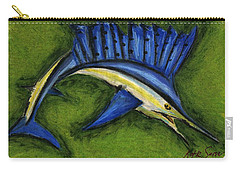 Sword Fish Carry-all Pouch