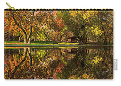 Sycamore Reflections Carry-all Pouch by James Eddy