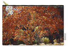 Sycamore Trees Fall Colors Carry-all Pouch