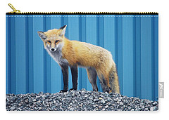 Carry-all Pouch featuring the photograph Sydney Fox by Jason Lees