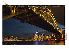 Carry-all Pouch featuring the photograph Sydney Harbour Bridge by Miroslava Jurcik