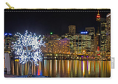 Sydney Skyline From Cockle Bay Carry-all Pouch by Nicholas Blackwell