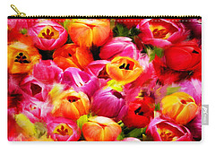 Symbol Of Love Carry-all Pouch by Lourry Legarde