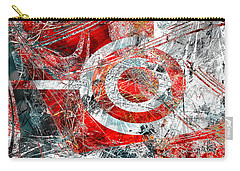 Carry-all Pouch featuring the digital art Symmetry by Fine Art By Andrew David