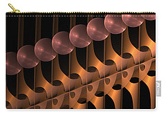 Carry-all Pouch featuring the digital art Symphony by Gabiw Art