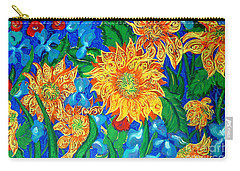 Symphony Of Sunflowers Carry-all Pouch