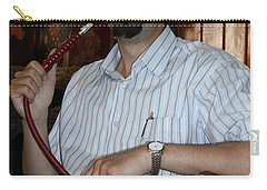 Syrian Man And Waterpipe Carry-all Pouch