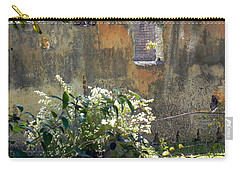 Tabby On The Old Point Carry-all Pouch by Patricia Greer