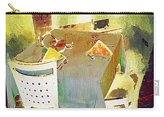 Table At The Fauve Cafe Carry-all Pouch