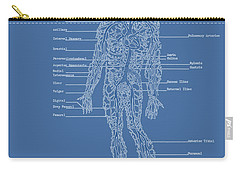 Table Of Arteries Carry-all Pouch