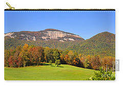 Table Rock In Autumn Carry-all Pouch by Lydia Holly