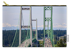 Tacoma Narrows Bridge Carry-all Pouch