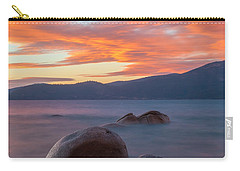 Tahoe Burning Carry-all Pouch by Jonathan Nguyen