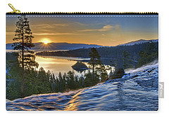 Tahoe Sunrise Carry-all Pouch