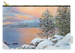 Tahoe Winter Colors Carry-all Pouch