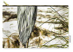Tail Feathers Carry-all Pouch