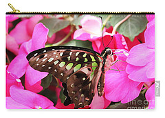 Tailed Jay Butterfly #4 Carry-all Pouch