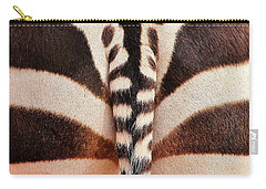 Tailing A Zebra Carry-all Pouch