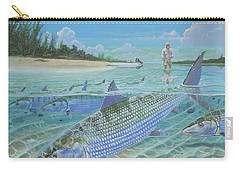Tailing Bonefish In003 Carry-all Pouch
