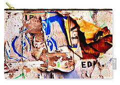 Carry-all Pouch featuring the photograph Take A Stand by Christiane Hellner-OBrien