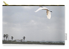 Carry-all Pouch featuring the photograph Take Off by Erika Weber