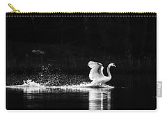 Carry-all Pouch featuring the photograph Take Off by Rose-Maries Pictures