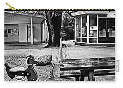 Carry-all Pouch featuring the photograph Taking A Break by Andy Prendy