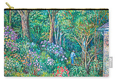 Carry-all Pouch featuring the painting Taking A Break by Kendall Kessler