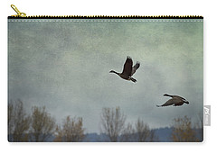 Carry-all Pouch featuring the photograph Taking Flight by Belinda Greb