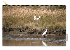 Taking Flight Carry-all Pouch by Rebecca Davis