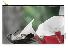 Baby Hummingbird Taking It Easy Carry-all Pouch