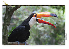 Talkative Toucan Carry-all Pouch