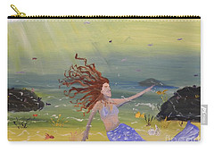 Talking To The Fishes Carry-all Pouch by Pamela  Meredith
