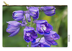Carry-all Pouch featuring the photograph Tall Garden Beauty by Eunice Miller