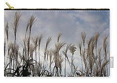 Tall Grasses And Blue Skies Carry-all Pouch