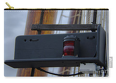 Carry-all Pouch featuring the photograph Tall Ship Bow Light by Dale Powell