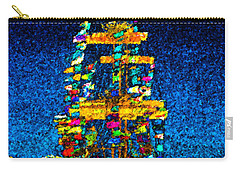 Tall Ship Jose Gasparilla Carry-all Pouch by David Lee Thompson