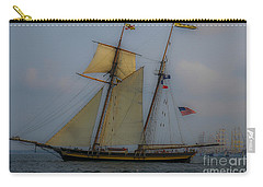 Tall Ships In The Lowcountry Carry-all Pouch by Dale Powell