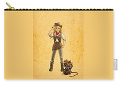 Tammy And Alfred Carry-all Pouch