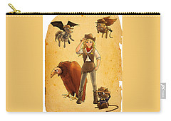 Tammy And The California Gold Rush Carry-all Pouch by Reynold Jay