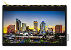 Tampa Skyline Carry-all Pouch by Marvin Spates