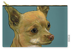 Tan Chihuahua Carry-all Pouch